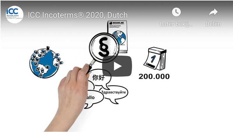 ICC Incoterms® 2020 video, Dutch